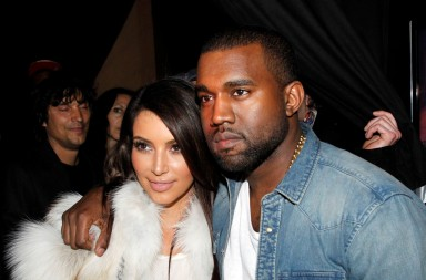 Kim y Kanye presentan a Saint West