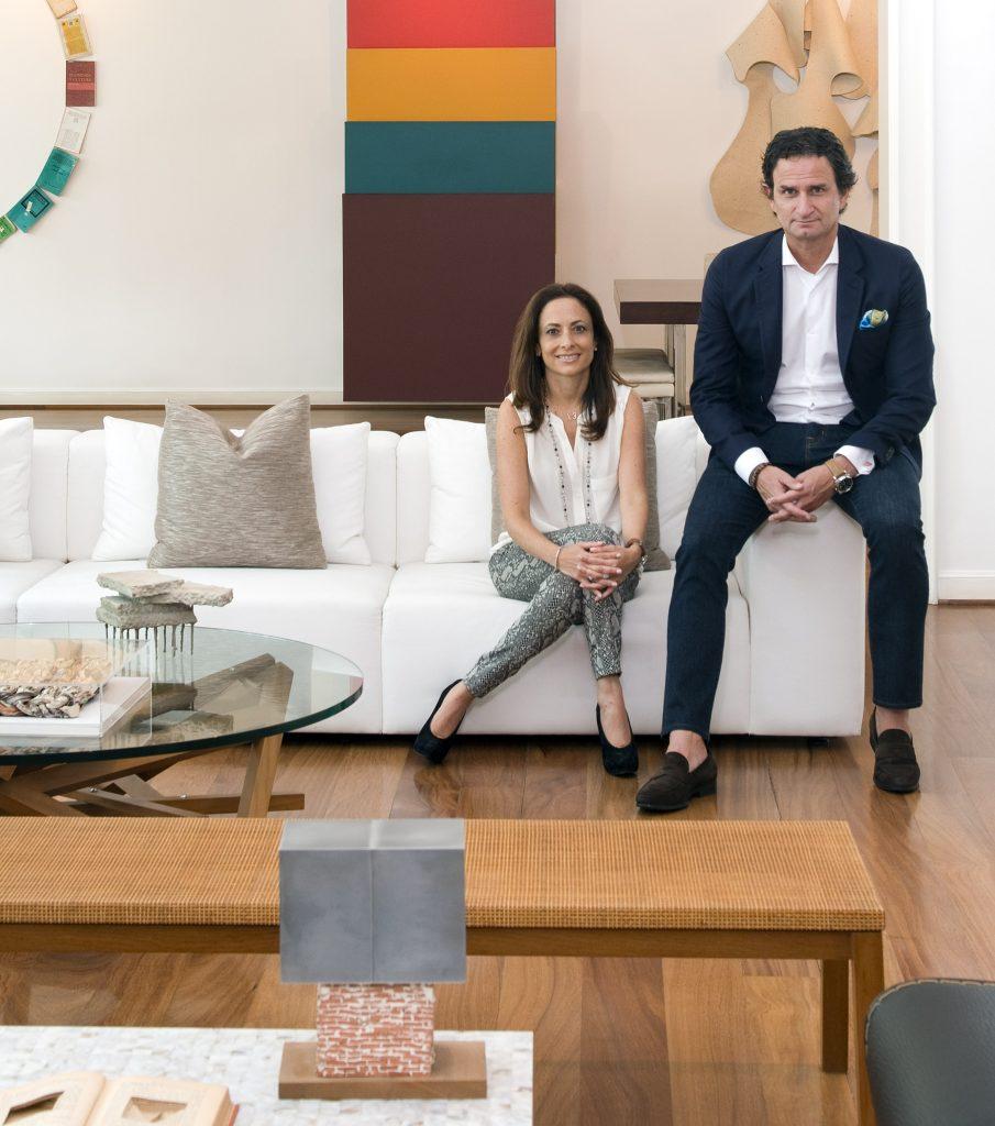 Ginette Lumbroso y Alberto Rebaza