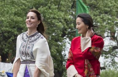 Kate y Jetsun Pema