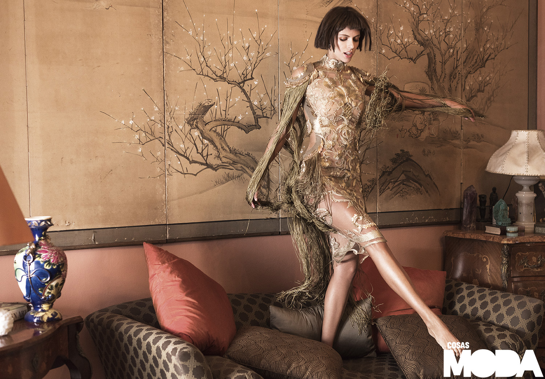 Vestido de Noe Bernacelli.