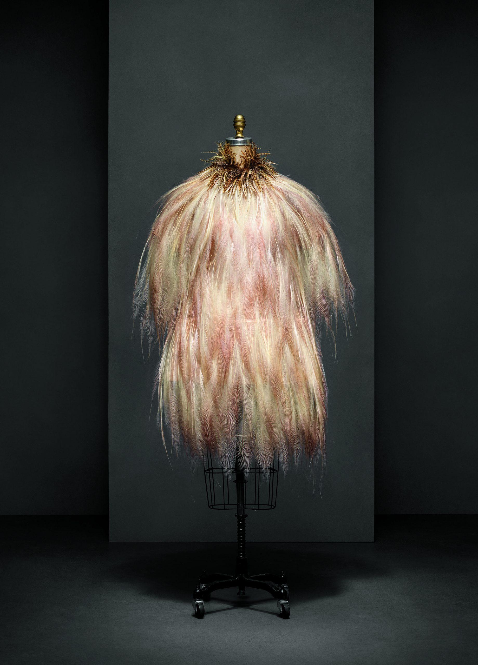 Vestido de Yves Saint Laurent. Colección alta costura Otoño-Invierno 1969-70.