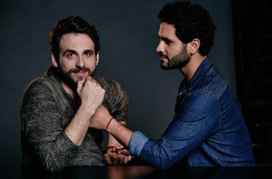 Rodrigo González Peluchín y Sean Rico