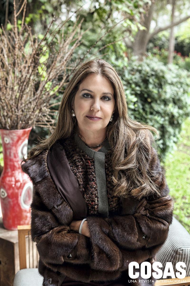 Mariana Correa de Hochschild es quien organiza el desfile de moda inaugural de  El Rastrillo.