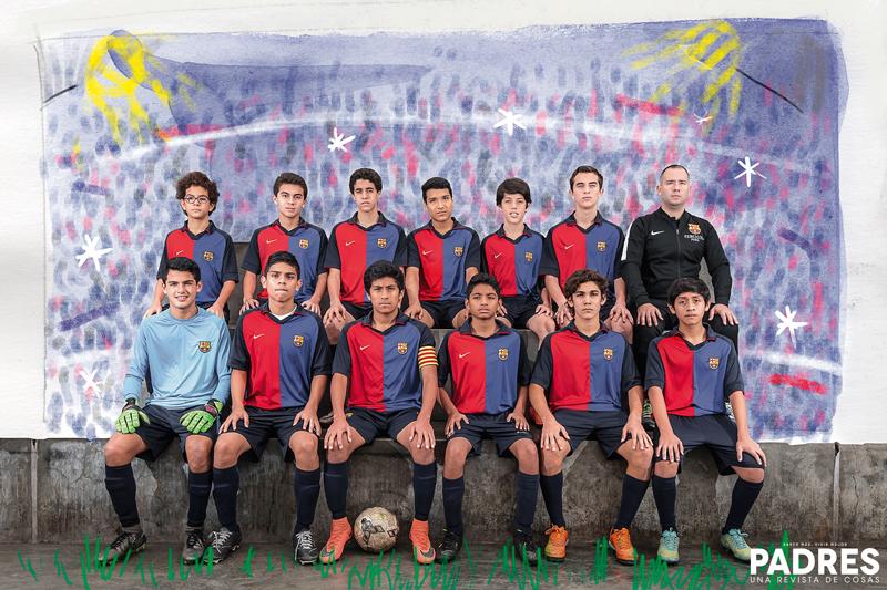 Seleccion 14 FCB Barcelona en Perú.