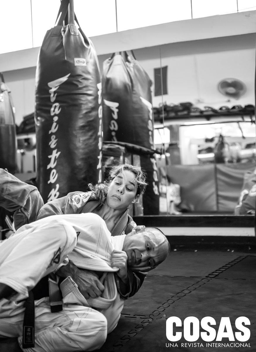 """""""Para hacer jiu-jitsu, tienes que dejar el ego a un lado, porque te bloquea y te impide aprender. Te hace perder."""""""