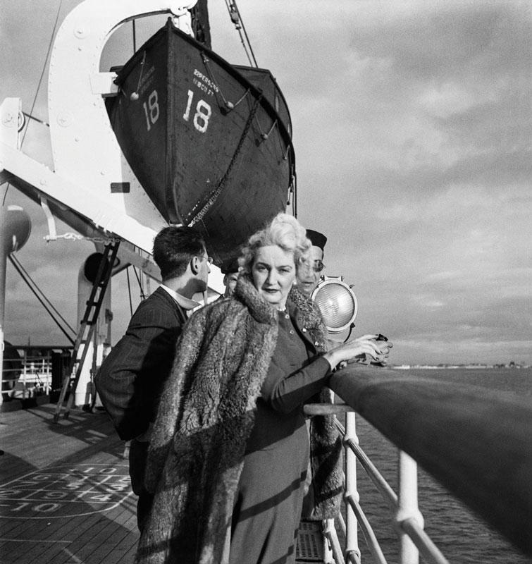 Una de las más grandes aficiones del artista era el registro de escenas cotidianas en trayectos marítimos.