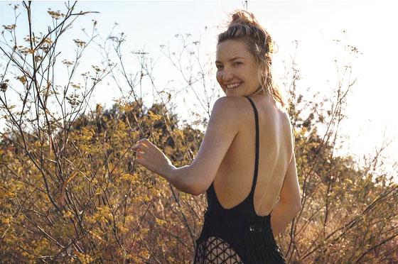 Kate Hudson en Ibiza.