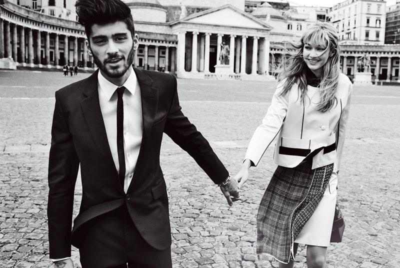 El ex One Direction Zayn Malik tiene una relación con la modelo Gigi Hadid.