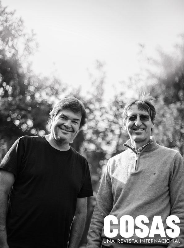 Daniel Rodríguez Risco y David Fischman se conocen desde hace tres décadas. Son socios en Meaningful Entertainment.