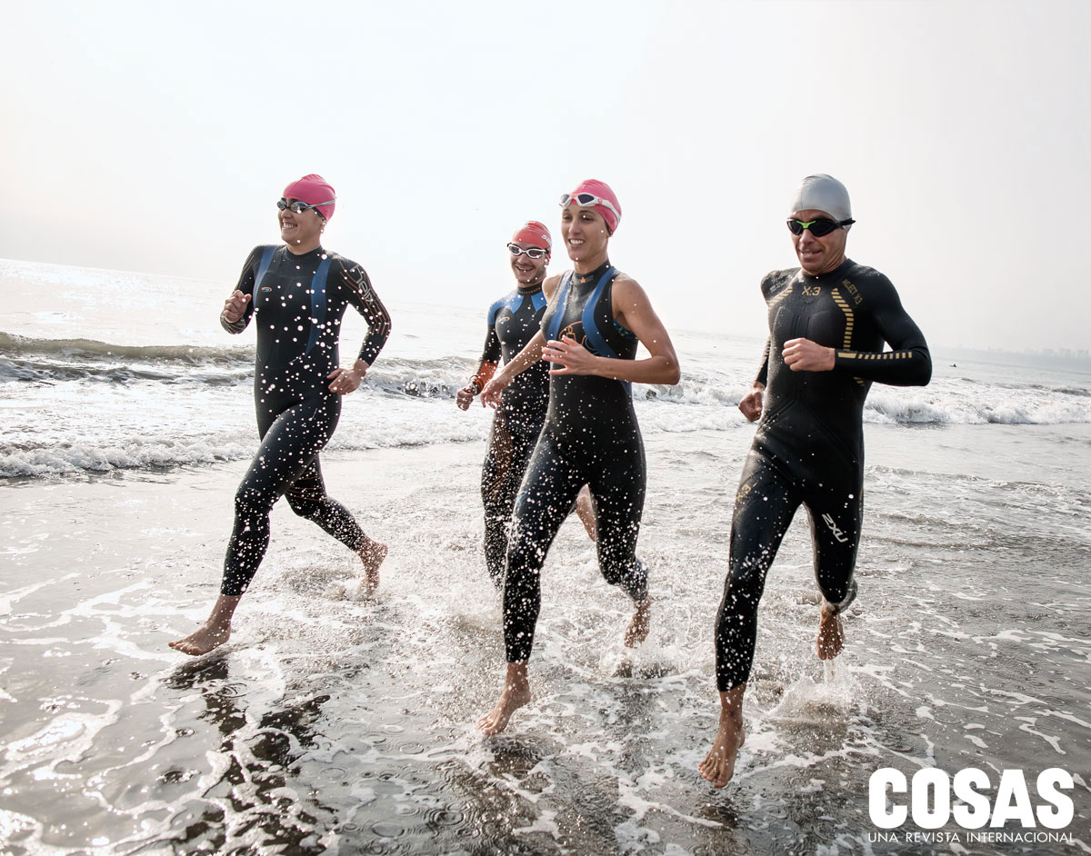 """La competencia Ironman 70.3 Perú se realizará en el mar de la playa Agua Dulce y el circuito de ciclismo seguirá una """"M"""" a lo largo del acantilado de la Costa Verde."""