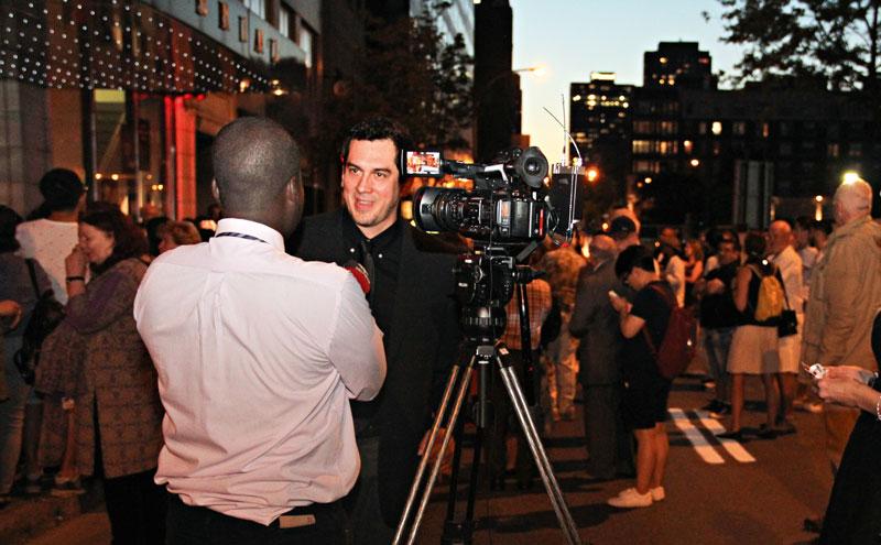 """""""Mostrar mi película en una ciudad de cinéfilos como Montreal fue todo un lujo"""", dice Ricardo."""