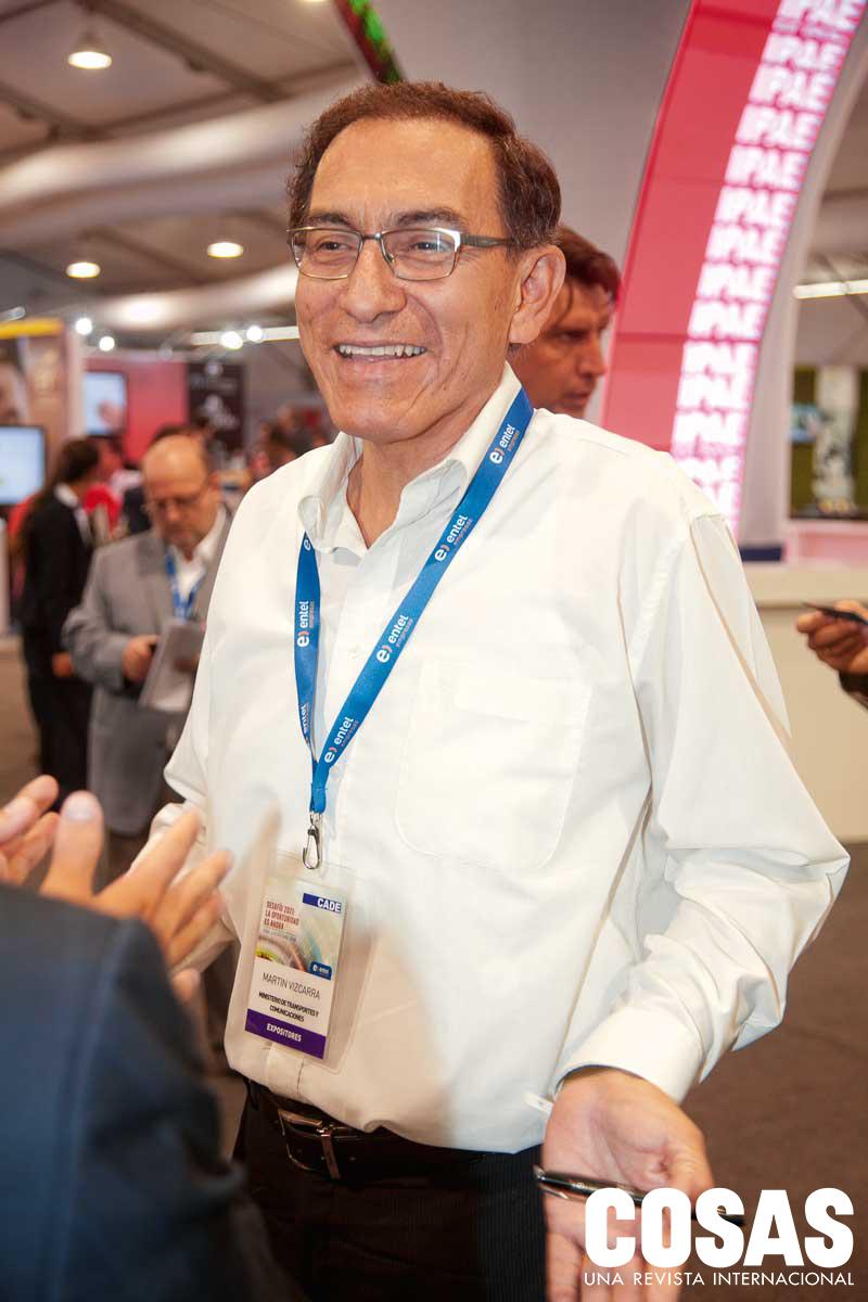 Martín Vizcarra, vicepresiddente de la repúlica.