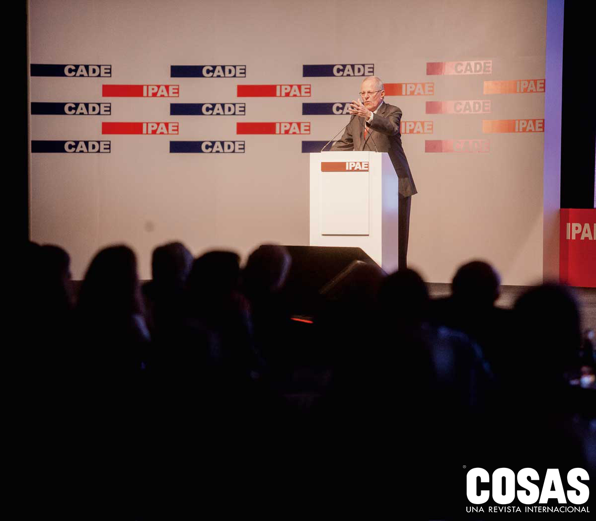 Pedro Pablo Kuczynski, presidente de la república.