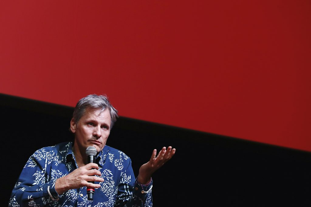ROME, ITALY - OCTOBER 17: Viggo Mortensen attends a press conference for 'Captain Fantastic' during the 11th Rome Film Festival at Auditorium Parco Della Musica on October 17, 2016 in Rome, Italy. (Photo by Ernesto Ruscio/Getty Images)