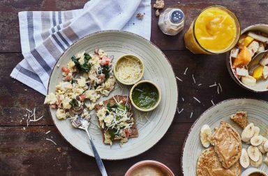 desayuno en Quinoa