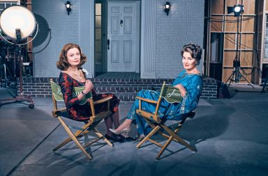 Bette Davis y Joan Crwaford, en Feud