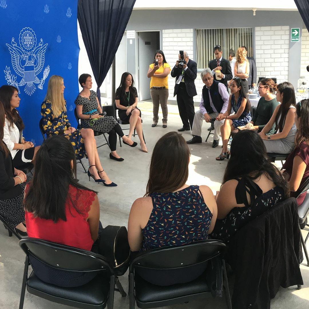 En el 2017, Torres fue escogida paraparticipar en el programa Young Leaders of the Americas Initiative (YLAI)financiado por los Estados Unidos, motivo por el cual fue una de las convocadas. Cumbre de las Américas