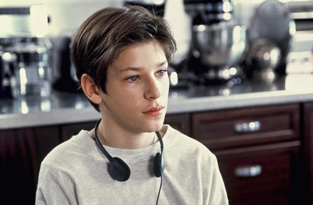 """En 1999, durante el rodaje del filme """"Juliette""""."""