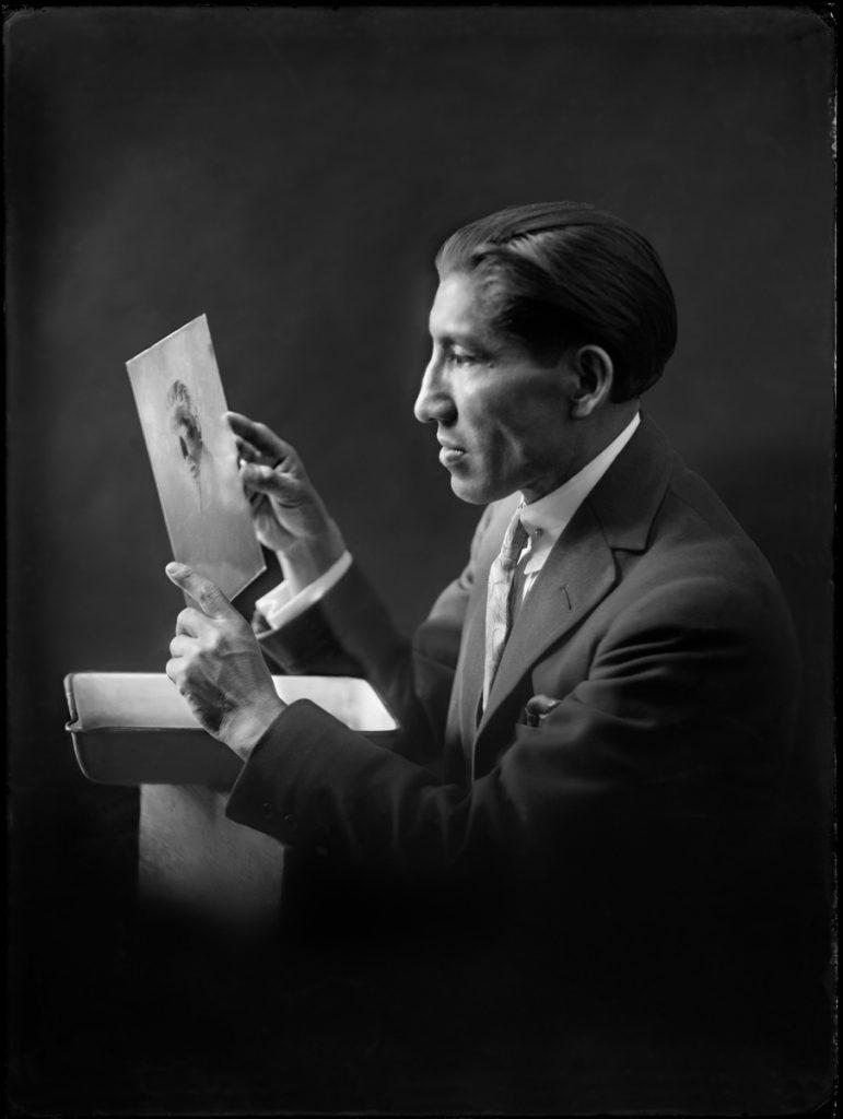 autoretrato Martín Chambi