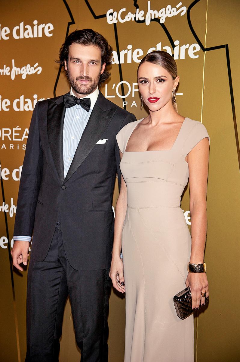 Rafael y su esposa, Laura Vecino.