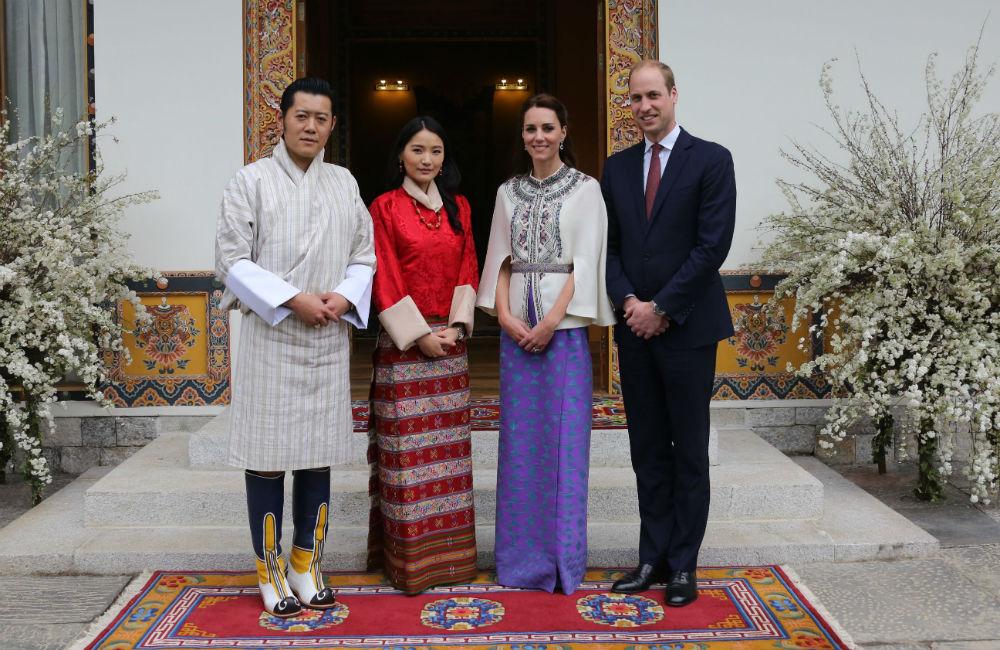 Con los duques de Cambridge