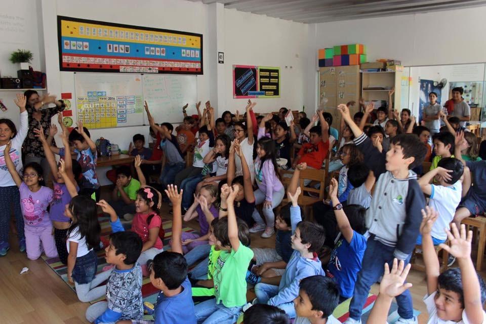 Durante los últimos tres años, Sandra Jiménez ha viajado por todo el país promoviendo la lectura. Foto: Sandra Jiménez.