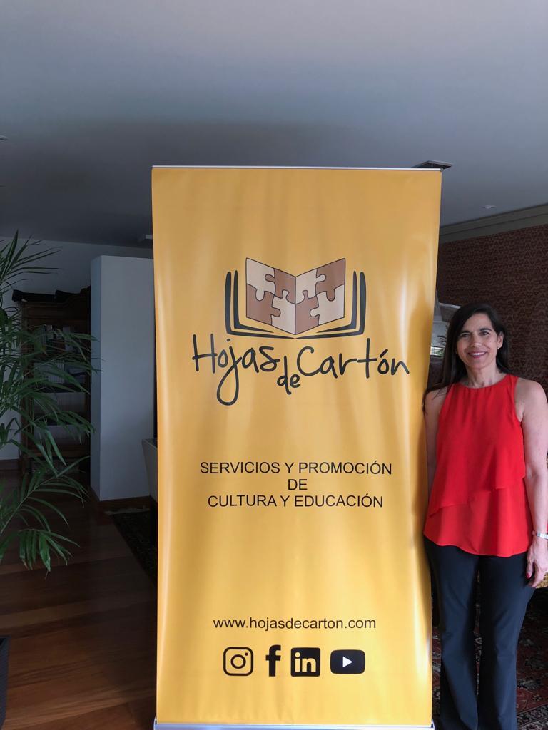 Sandra Jiménez es educadora de nivel inicial y especial, y también psicoterapeuta. Foto: Sandra Jiménez.