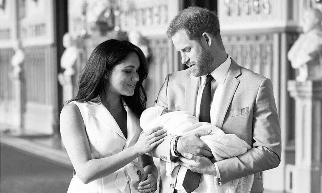 El primogénito de los duques de Sussex nació el 6 de mayo pasado.