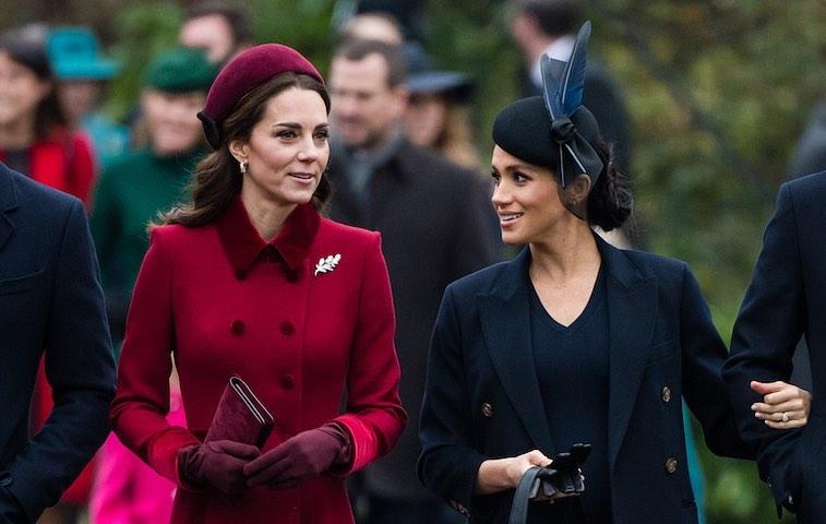 Moda Meghan Markle Kate Middleton