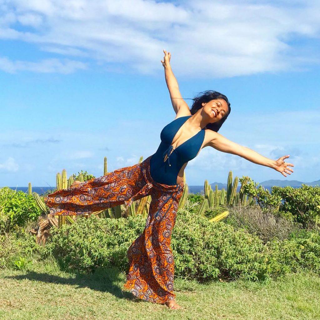 Salma Hayek fitness