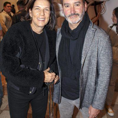 Lorena Wiese y Vicente León.