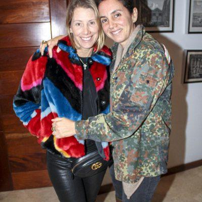 Mónica Bedoya y Vanessa Lolas.