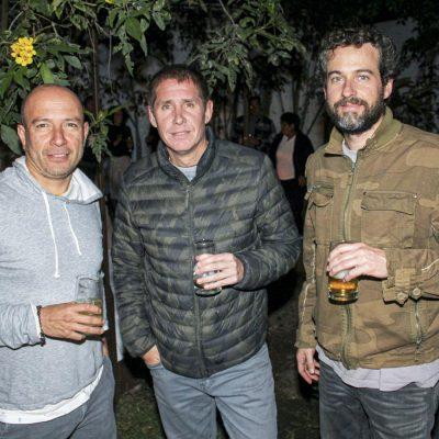 Ítalo Guiulfo, Gonzalo La Torre y Alberto Zimmermann.