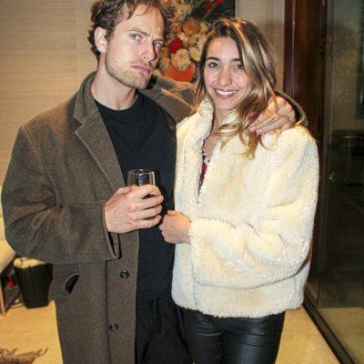 Alexander Moser y Celeste Sanfilippo.