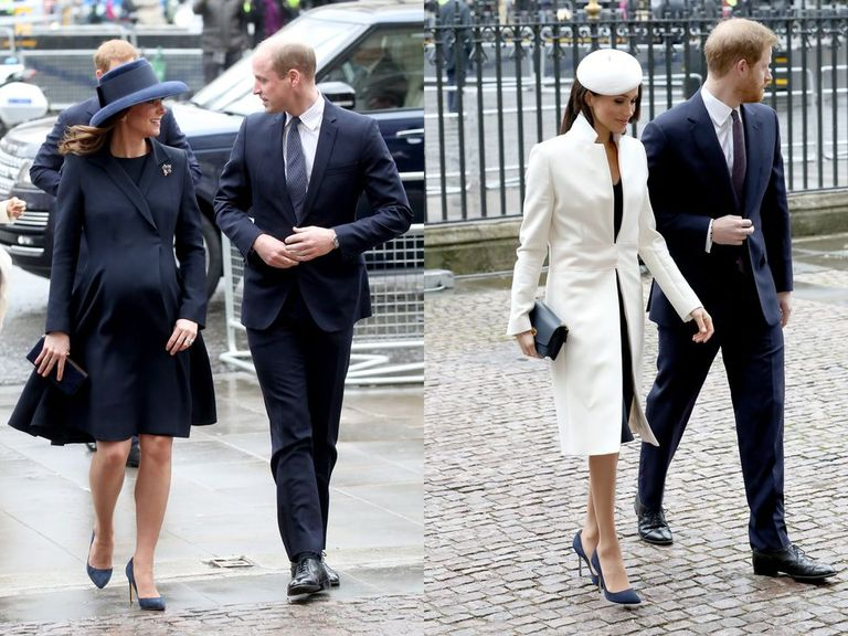 Kate Middleton Meghan Markle zapatos