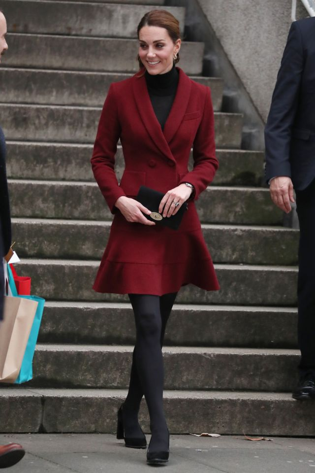 kate middleton borgoña