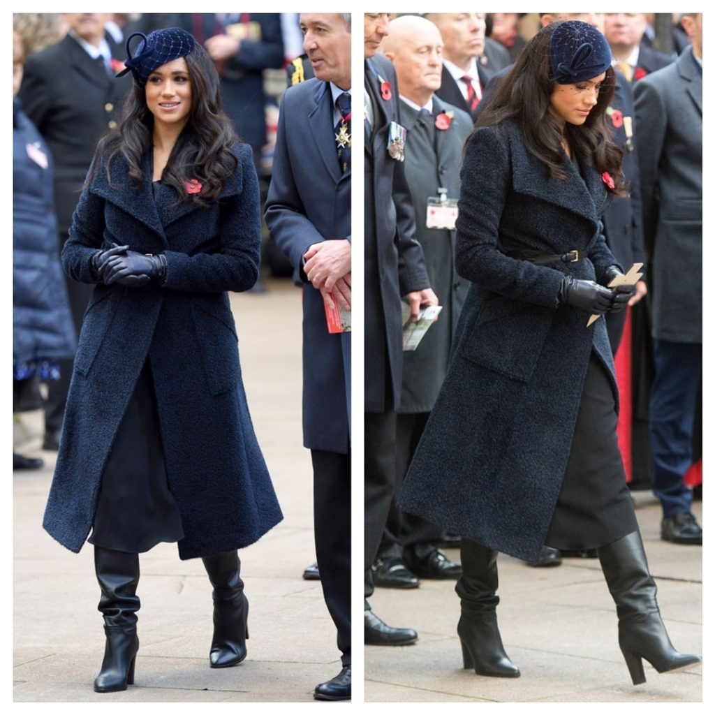 Kate Middleton Meghan Markle azul (1)