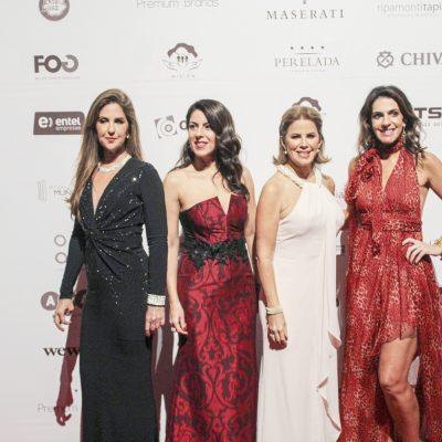 Mariana Hochschild, Roxana Gallegos, Sol Delgado y Karen Mitre.