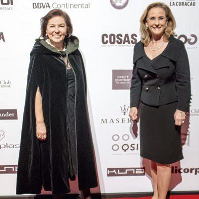 Elizabeth Dulanto y Denise Ratinoff.