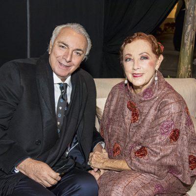 Eduardo de las Casas y Marisa Guiulfo.