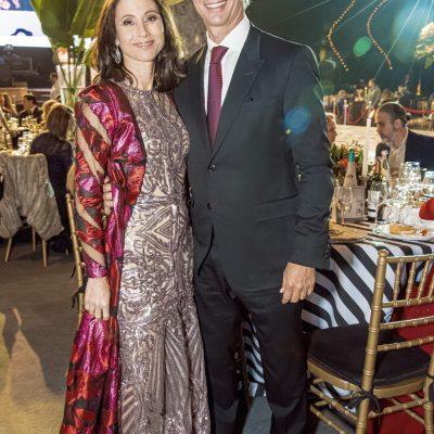 Araceli Moreyra y Estuardo Masías.