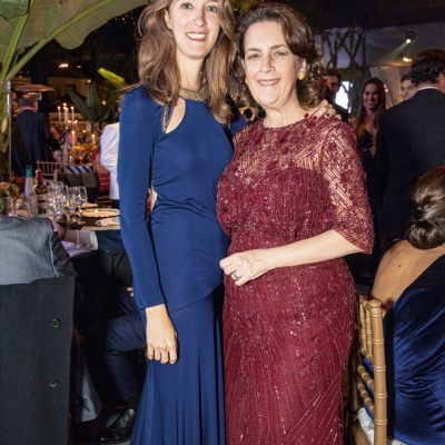 Alejandra Goeseke y Verónica Cervera.