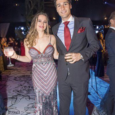 Stefania Nicolini y Alfonso Max Mendizábal.