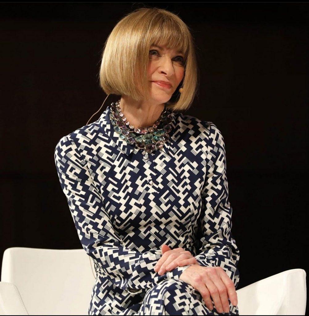 Anna Wintour ícono moda