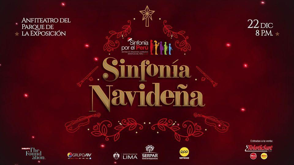 sinfonía por el Perú agenda cultural