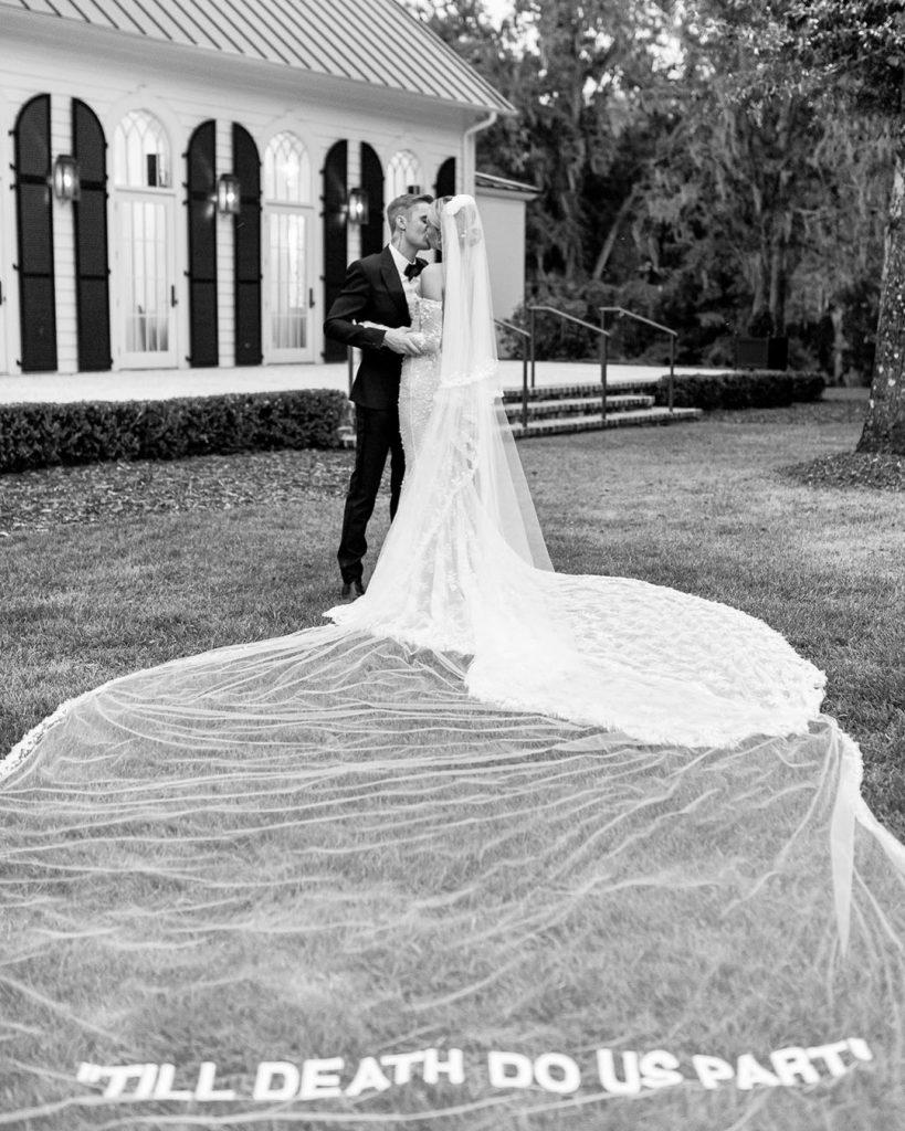 Hailey Bieber vestido de novia (2)