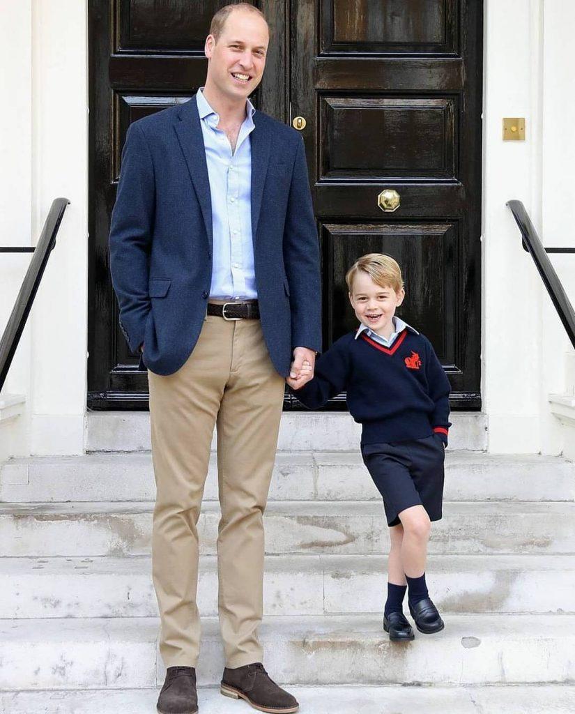 príncipe George realeza 3