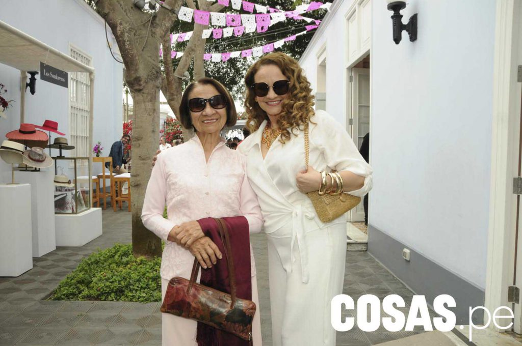 Milly Ahon y Yudith Colina.
