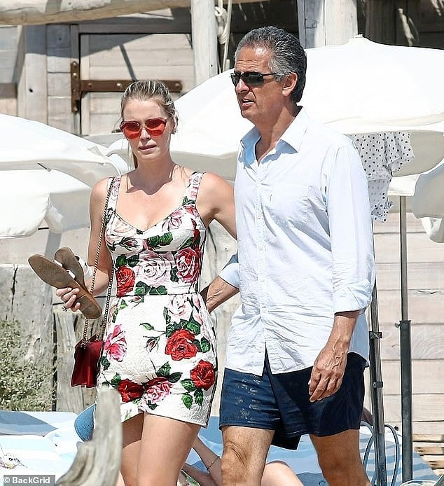 Lady Kitty Spencer novio 1