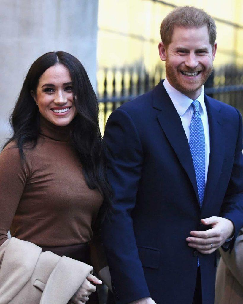Duques de Sussex Meghan Markle Príncipe Harry
